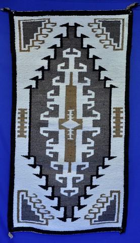 navajo rug designs two grey hills. Navajo Rug: Two Gray Hills; Medium Weave Rug Designs Grey Hills E