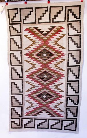 01 Navajo Textiles 01e 3x5 To 5x7 C1900 1940 Works