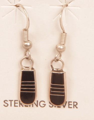Sterling Silver Kokopelli Set Necklace Dangle Earrings 36 Gm Vintage Native American Set